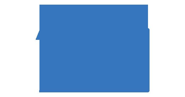 Clipart: Salon avec un canapé, un lampadaire et une bibliothèque.
