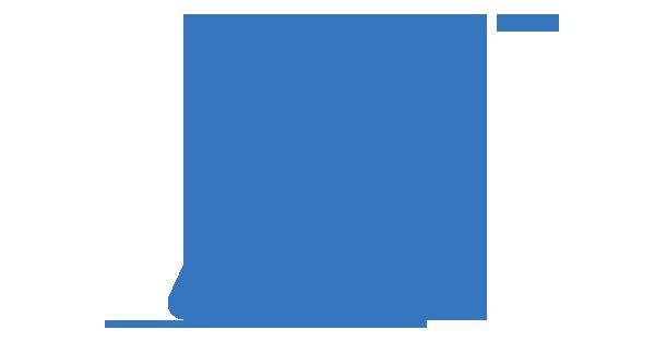 Clipart: Une personne donne une indication à une personne utilisatrice d'une canne longue.