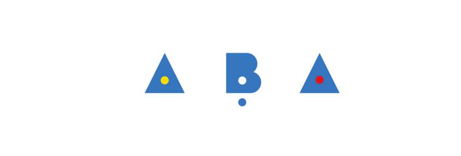 Photo: 3 lettres ABA, partie du logo de l'ABA.
