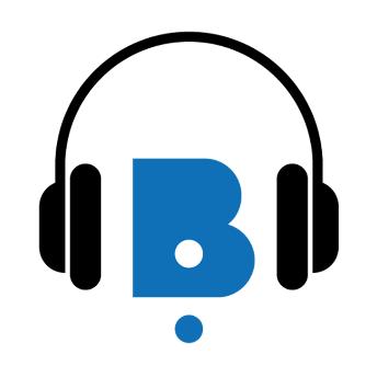 """Image clipart: """"Logo de l'application de téléchargement de livres audio de la BBR""""."""